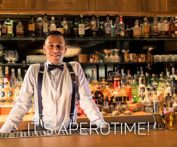njam! It's aperotime!