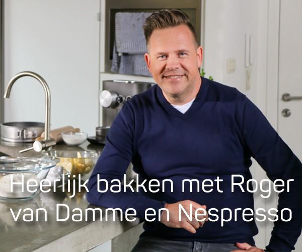 Heerlijk bakken met Roger van Damme en Nespresso