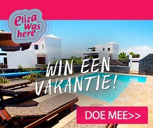 Eliza Was Here. Win een vakantie naar Tenerife.