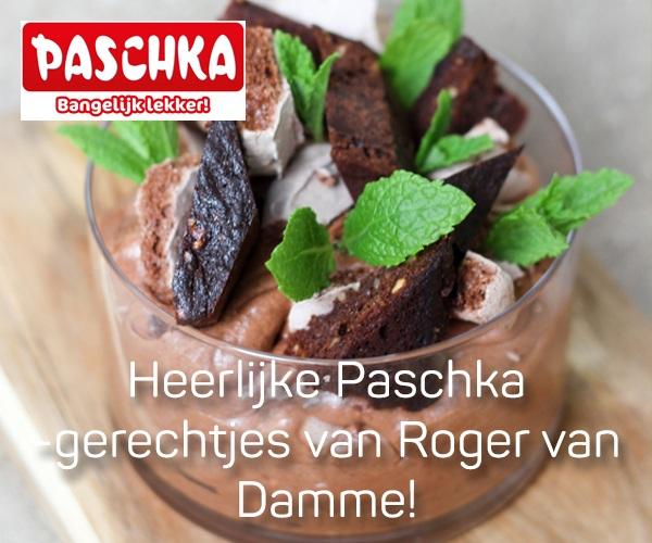 Heerlijke Paschka gerechten van Roger van Damme.