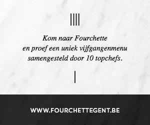 Kom naar Fourchette en proef een uniek vijfgangenmenu samengesteld door 10 topchefs