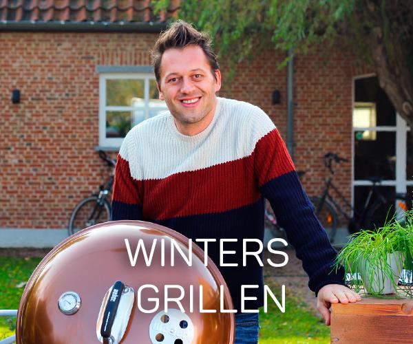 Winters grillen