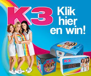 Win een van deze 3 coole K3-prijzen!
