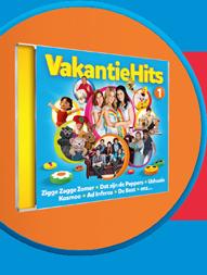 Studio 100 Vakantiehits-cd