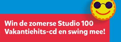 Win de zomerse Studio 100 Vakantiehits-cd en swing mee!