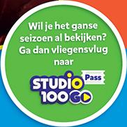 Ganze seizoen al bekijken? Ontdek Studio 100 GO Pass!