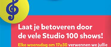 Laat je betoveren door de vele Studio 100 shows!