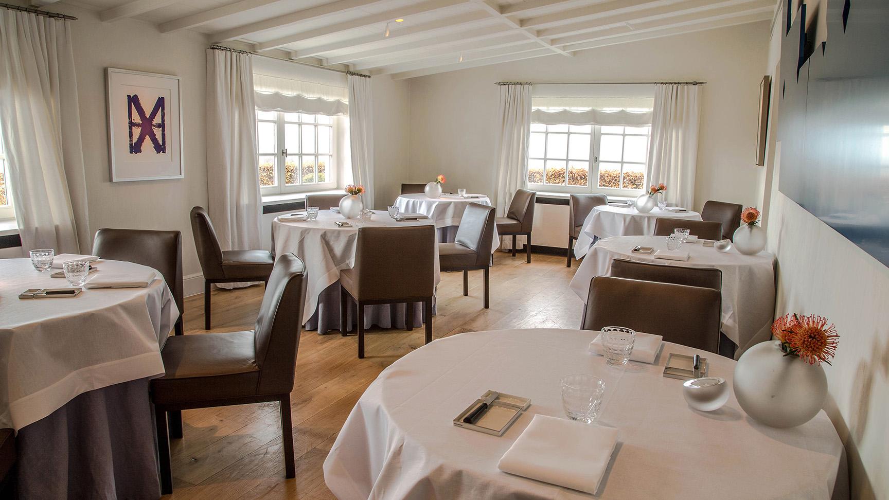 Binnenkijken bij hof van cleve het beste restaurant ter for Goossens interieur