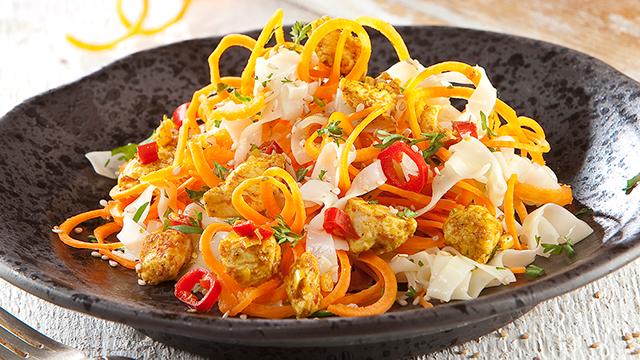 groentespaghetti maken