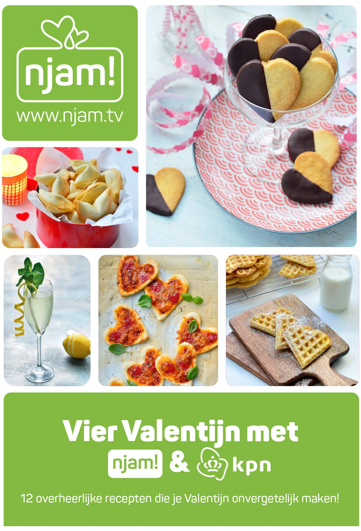 Vier Valentijn met njam! en KPN