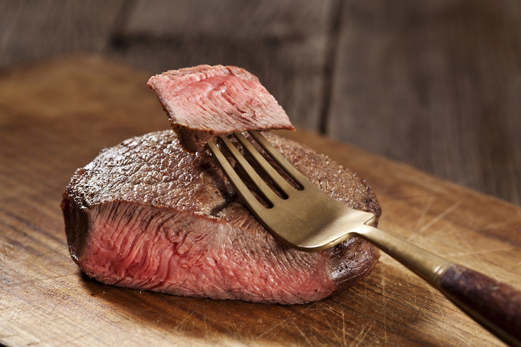 Steak bakken