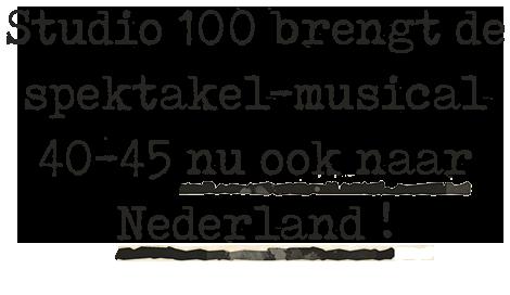 Binnenkort in België & Nederland