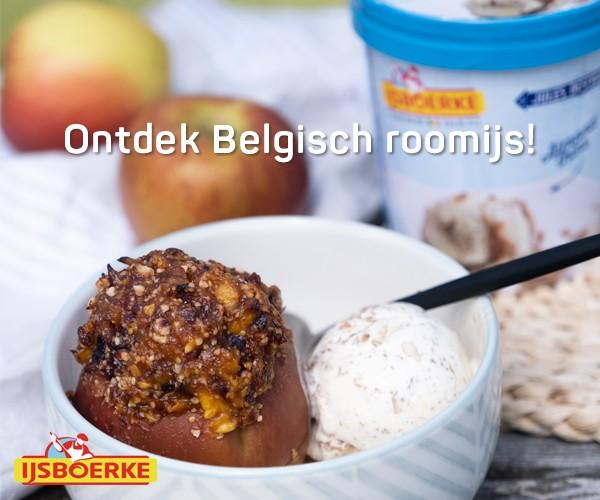 Ontdek Belgisch roomijs